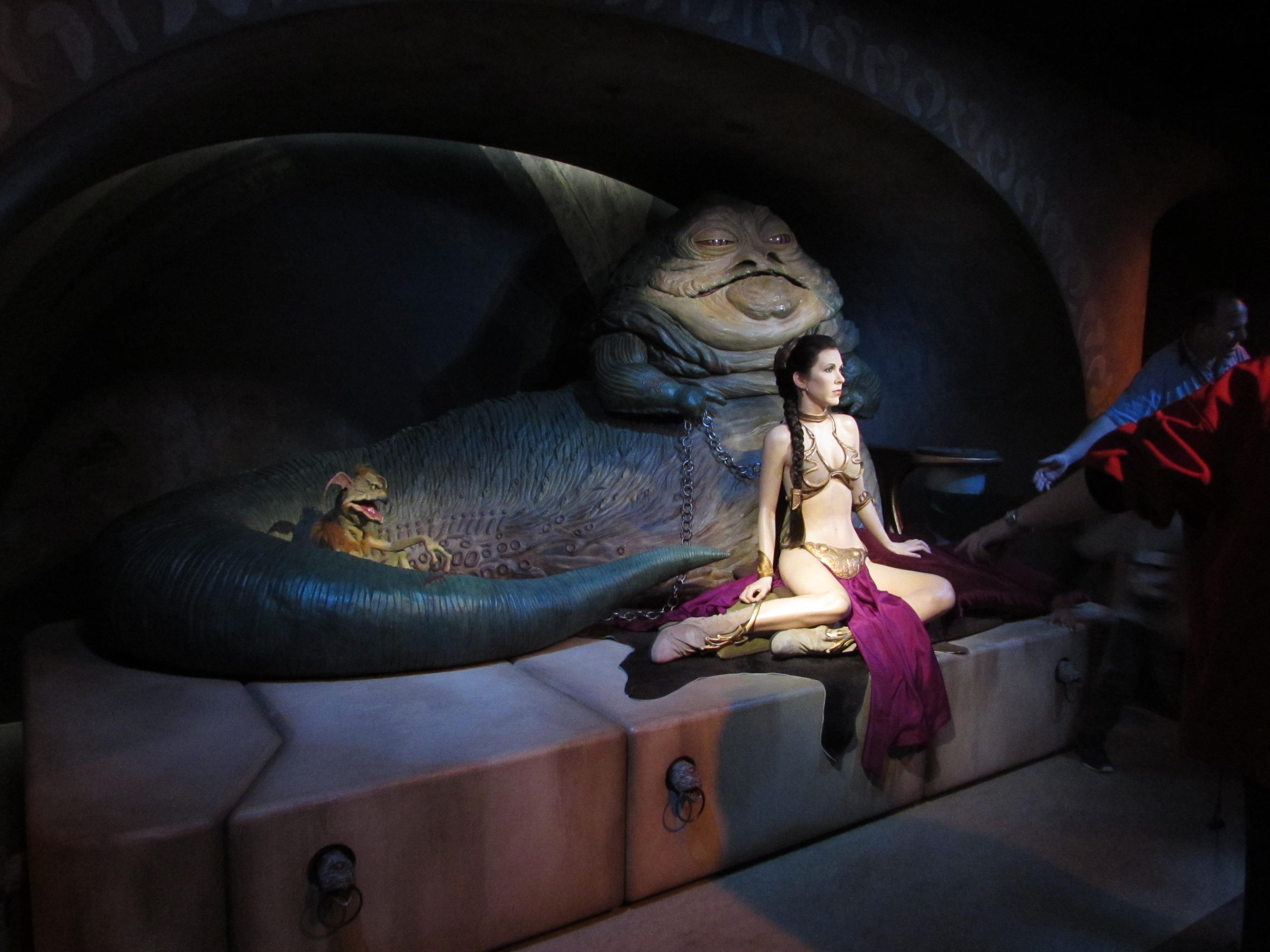 In a galaxy far, far away…   Paradox Jabba The Hutt And Leia